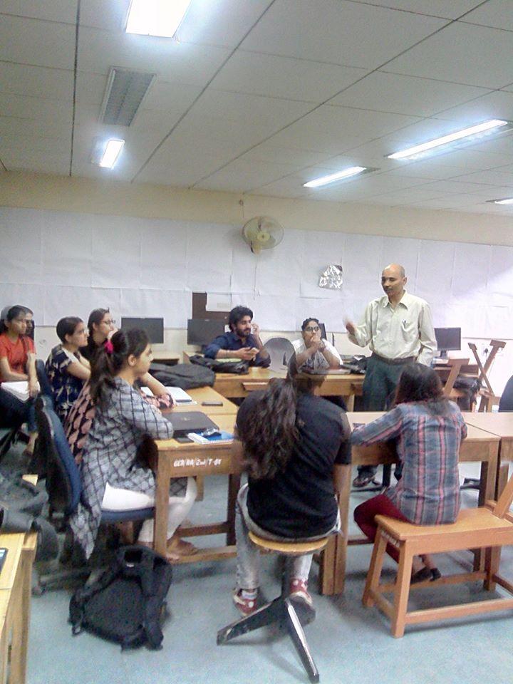 workshop at fine arts college